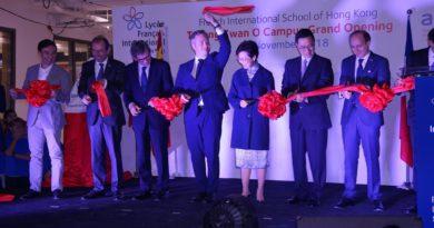 Jean-Baptiste Lemoyne: «Le lycée français de Hong-Kong est exemplaire!»