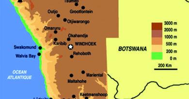 Swakopmund: face à l'océan, dos au désert