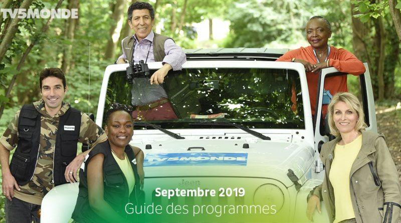 Programme TV5 Monde – Septembre 2019