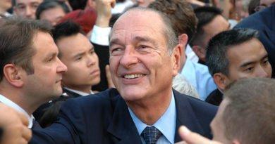 Jacques Chirac, président de la République à Hong-Kong
