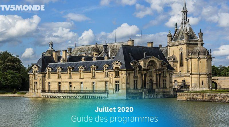Programme TV5 Monde -Juillet 2020