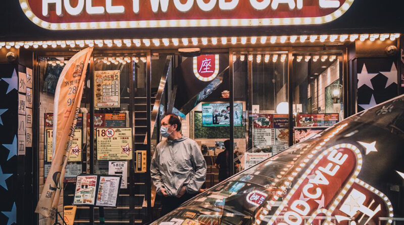 Hollywood café – Projection dolby de lumens pointillés et pulpes de fictions