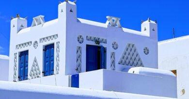 Mykonos – Un florilège de bleu et de blanc