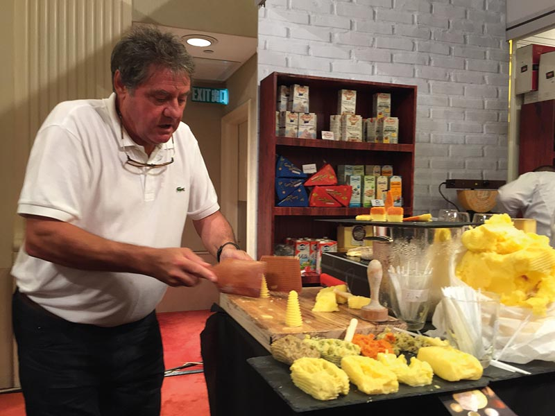 Jean Yves Bordier: «Je fais un beurre de tous les jours pour les gens de tous les jours!»