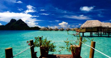 Une des perles de la Polynésie: TAHITI, l'île Reine