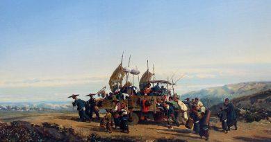 Auguste Borget, un peintre-voyageur français méconnu