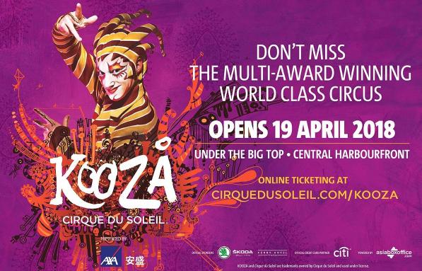 Le Cirque du Soleil revient à Hong-Kong