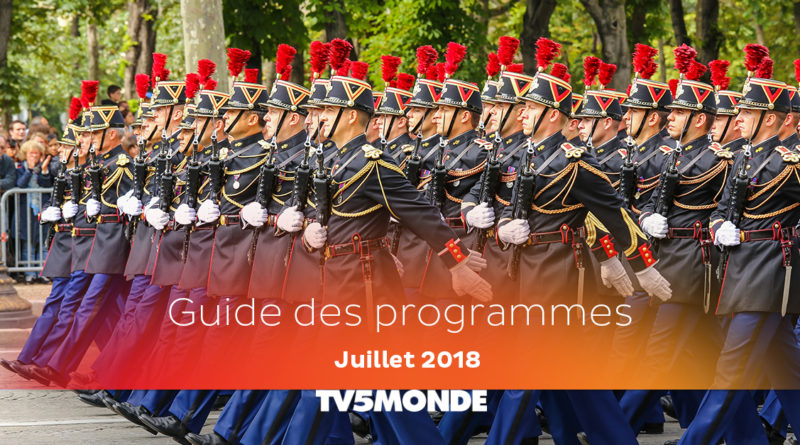 Programme TV5 Monde – Juillet 2018